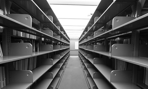 Empty Stacks, Vancouver Central Library