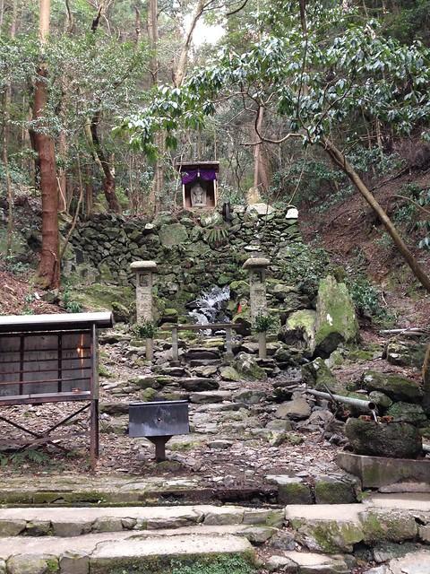 上醍醐寺、不動の滝