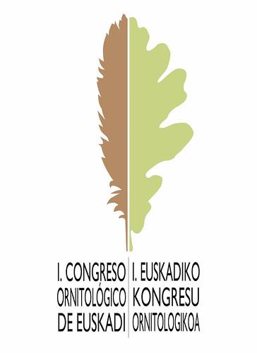 Logo del 1er congreso ornitológico de Euskadi