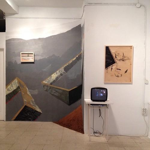 Non Fuctional Walls solo show en Espacio California
