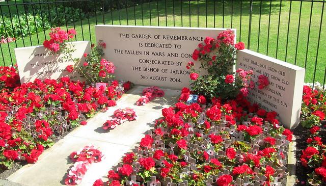 Washington Village, Garden of Remembrance