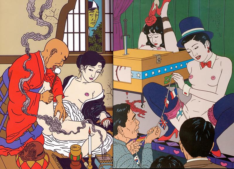 日本病態暴力美學教父 佐伯俊男Toshio Saeki 的情色烏托邦6