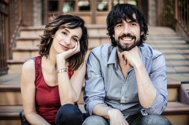 Olga Margallo y Antonio Muñoz de Mesa