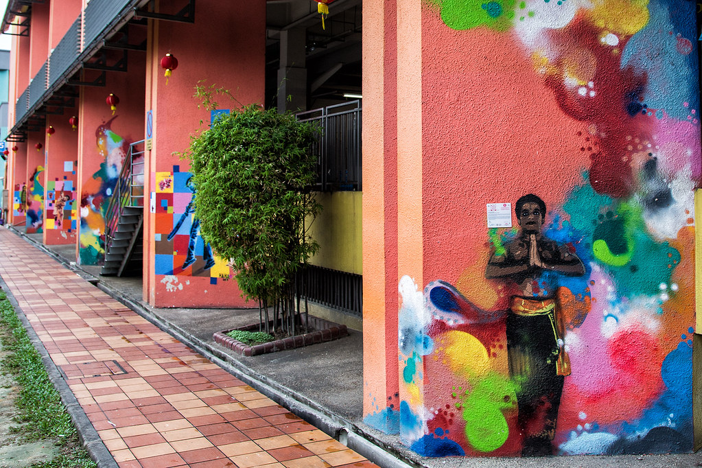 Рисунки на стенах. Часть 2-я. Little India.