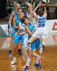 Bibby & Graf Last Game for the Canberra Capitals 2016