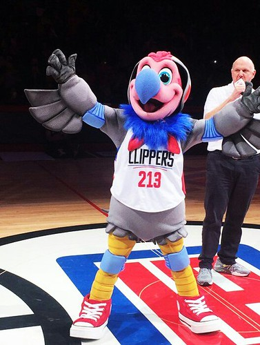This is Chuck the condor, the Clippers new mascot. Proof that drunk people should not be allowed to make decisions of any relevance.