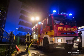 Wohnungsbrand Niedernhausen 28.02.16