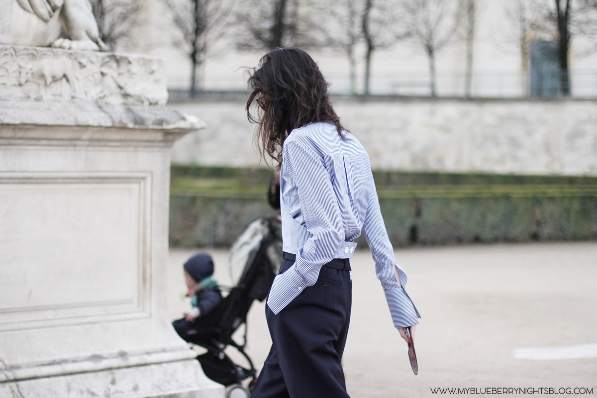 PFW-Paris-fashion-week-streetstyle-fall-2016-striped-blouse-myblueberrynightsblog