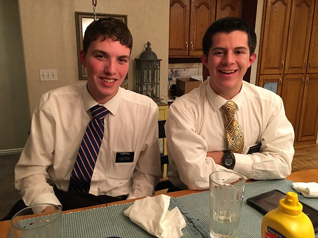 Elder Blaylock and Elder Hall