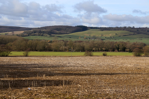 The Stour Valley near Wye