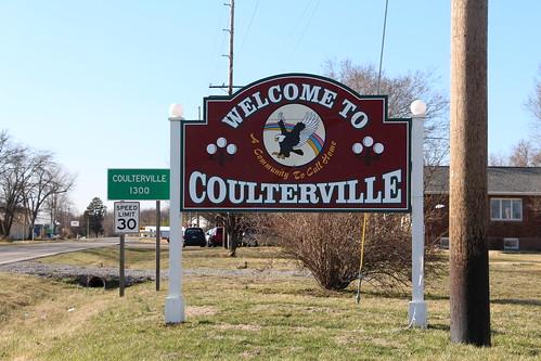illinois eagle smalltown coulterville citysign citywelcomesign coultervilleil welcometocoulterville population1300 acommunitytocallhome
