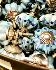 Colourful knobs