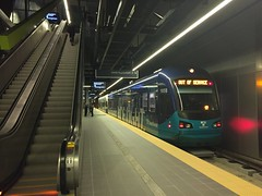 SEATTLE--105 at Univ. of Washington Station