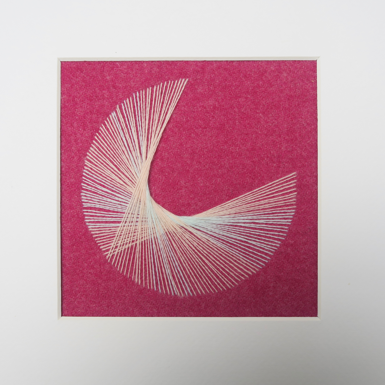 pacman string art