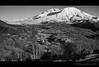 Mt. St. Helens B&W by helimat