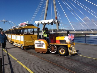 Southport Pier road train