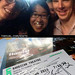 20150811&14 Me, miss G, Benedict Cumberbatch, his siggy, & siggy of Ciarán Hinds :D | The Barbican Centre, London, England by ratexla
