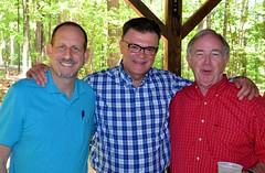 Steve Dieckhaus, Greg Brissette and Terry Hutchens