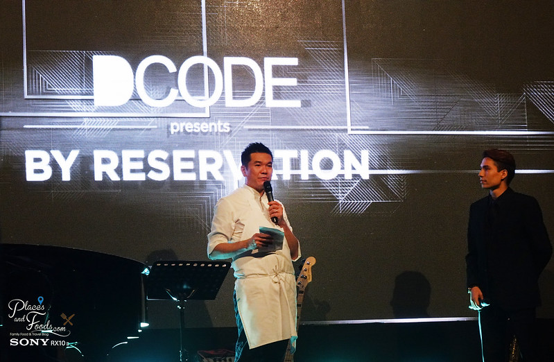dcode by reservation penang darren chin talking on stage with josiah