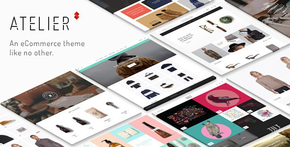 Atelier v2.4.43 – Creative Multi-Purpose eCommerce Theme