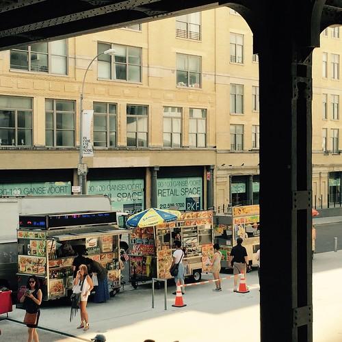 Food truck. NYC aug2015. Nueva York