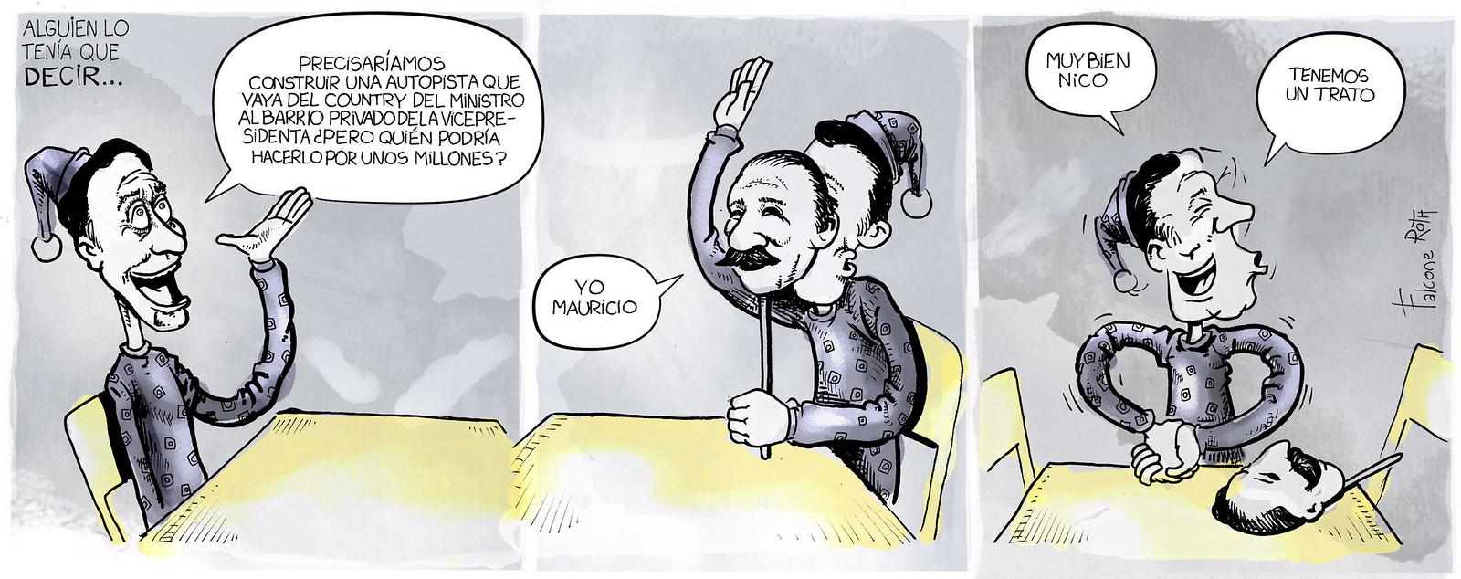 personalidades Mauricio Macri - Nicolas Caputo