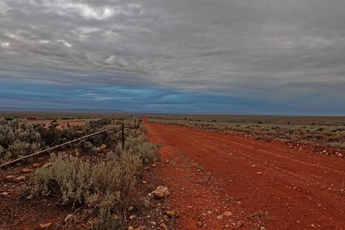 clouds landscape outdoors bushland