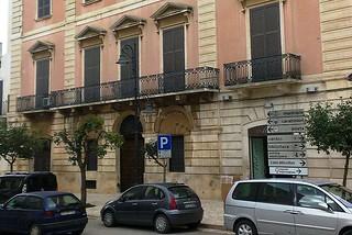 Noicattaro. Palazzo Macario front