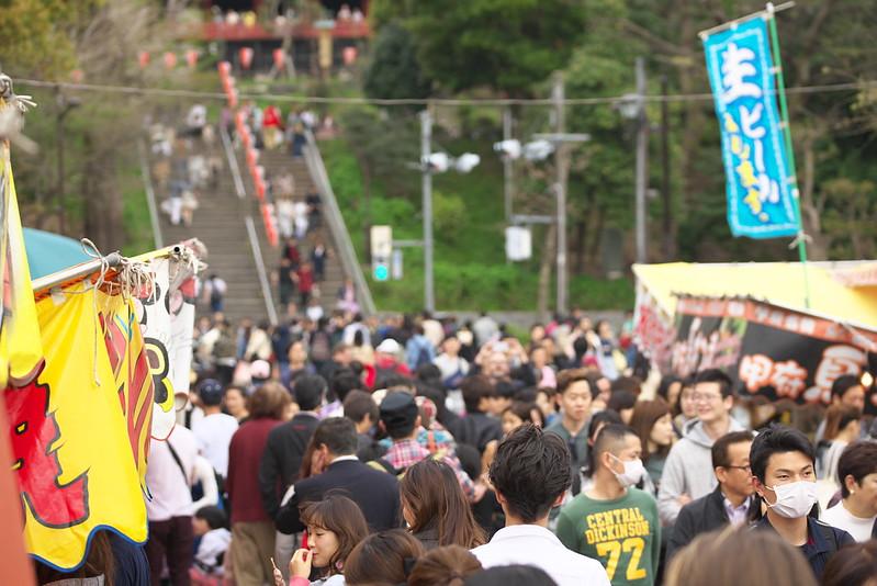 東京路地裏散歩 上野の桜 2016年4月9日