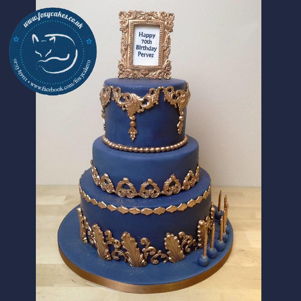Blue Cake Ideas