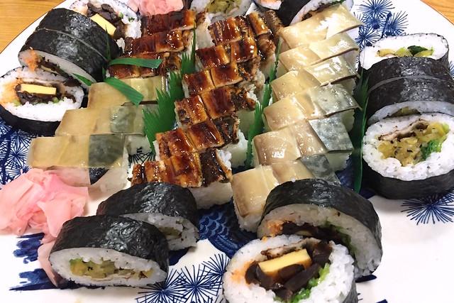 20160407辰巳寿司 KOBE (Maki-Sushi & Hako-Sushi)