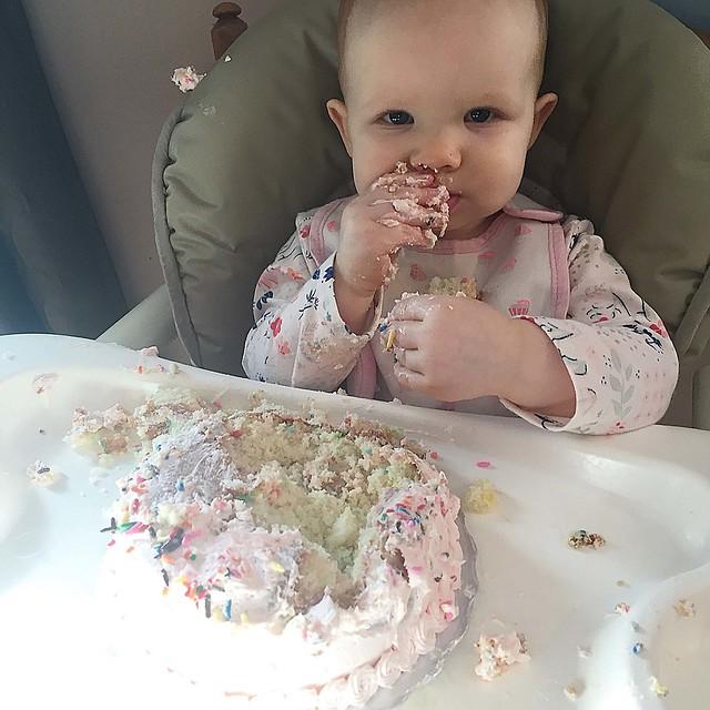 Eating Cake 3