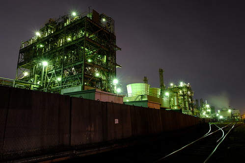 Kawasaki Factory Night scene 06
