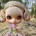 Complete OOAK Custom Blythe Reroot Doll 'Riviera'