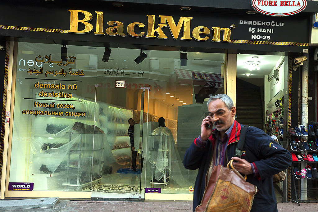 Black Men--Istanbul