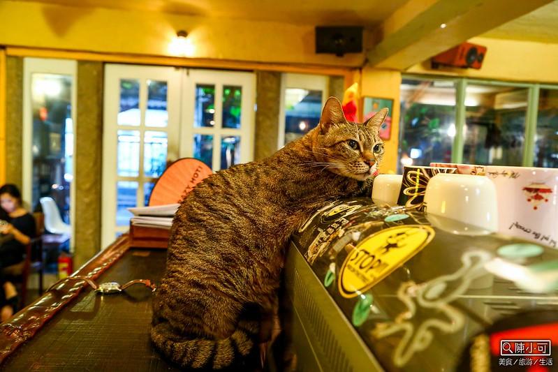 【台北咖啡館】路上撿到一隻貓,有貓咪的咖啡館。不限時間/部份座位有插座/有網路wifi