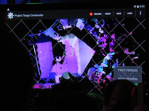 โชว์ออฟ Project Tango ทำการสแกนแบบ 3D รอบๆ ห้องแถลงข่าว