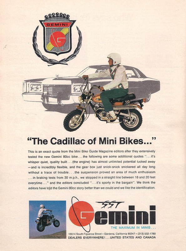 Gemini mini bike