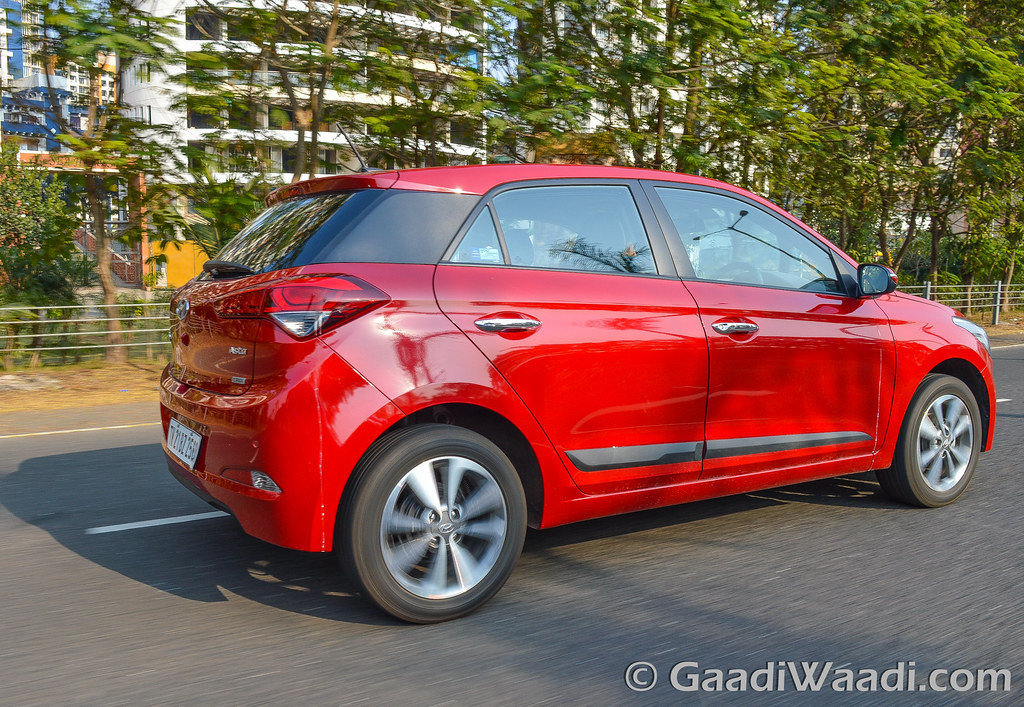 Hyundai Elite i20 AVN Test drive review-45