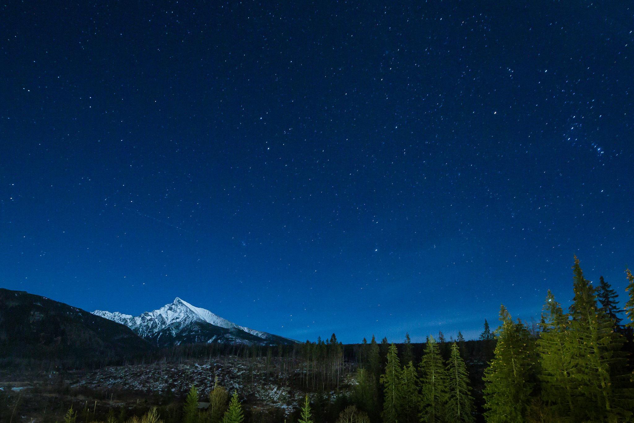 Imagen gratis de un bonito cielo estrellado - Imágenes gratis