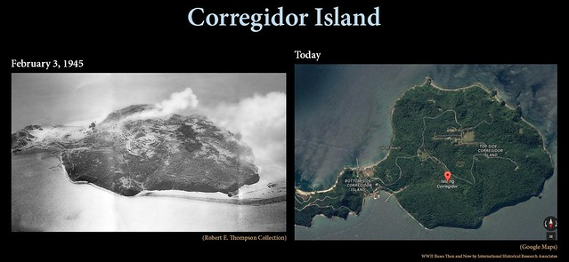 Corregidor Island Then and Now