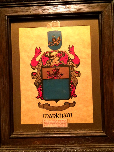 Markham Family Crest (January 20 2015)