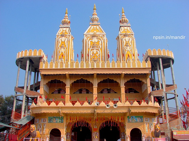 The Full View of Mandir Architecture