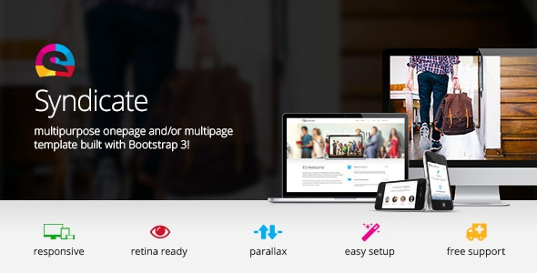 Themeforest Syndicate v1.0 - All Purpose Bootstrap Retina Template