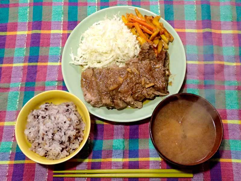 2016年1月14日の晩ご飯