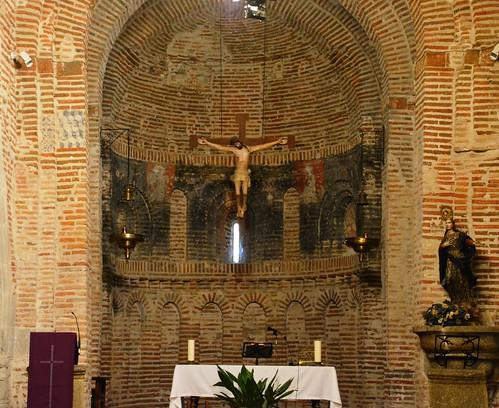 Aldeaseca de la Frontera. Iglesia de la Asunción. Ábside