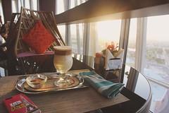 Cafe Latte ☕️🌞 @thetorchdoha   #cafelatte #…