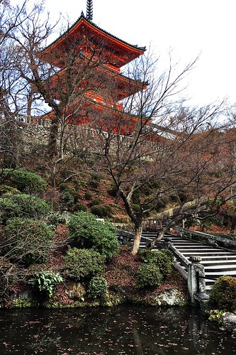 Kiyomizu-dera Temple (Kyoto, Japan)