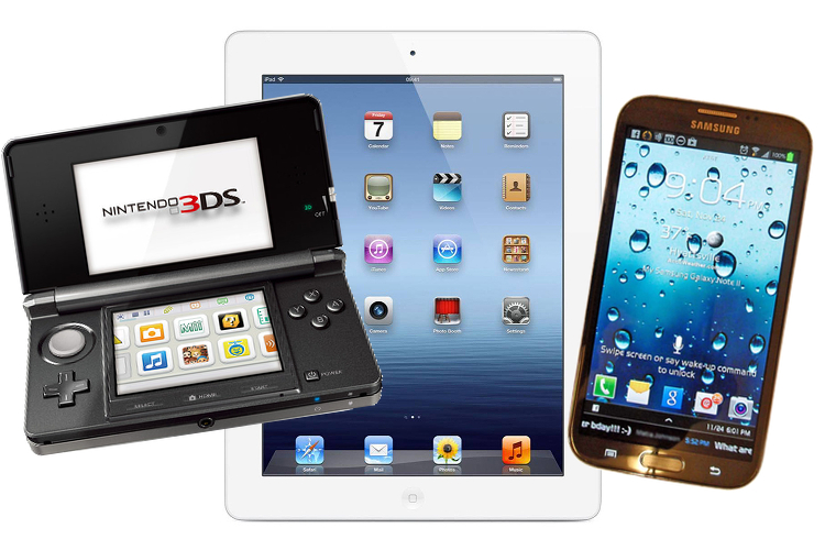 Must have travel gadgets, electronics, tablet, phone, handheld game console