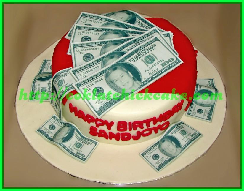 Cake Uang Dolar